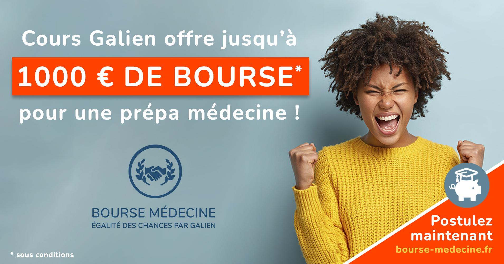 Bourse Médecine - Cours Galien : Programme égalité des chances
